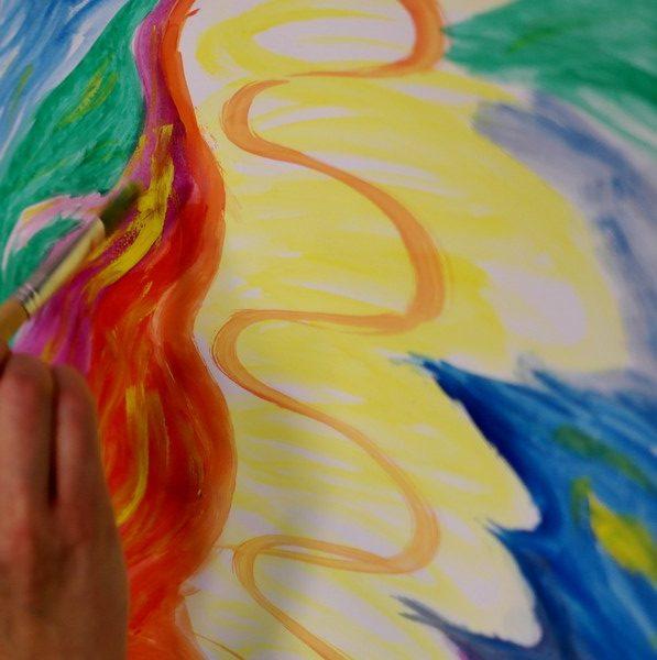 Vzdelávací cyklus v arteterapii u Beate Albrich